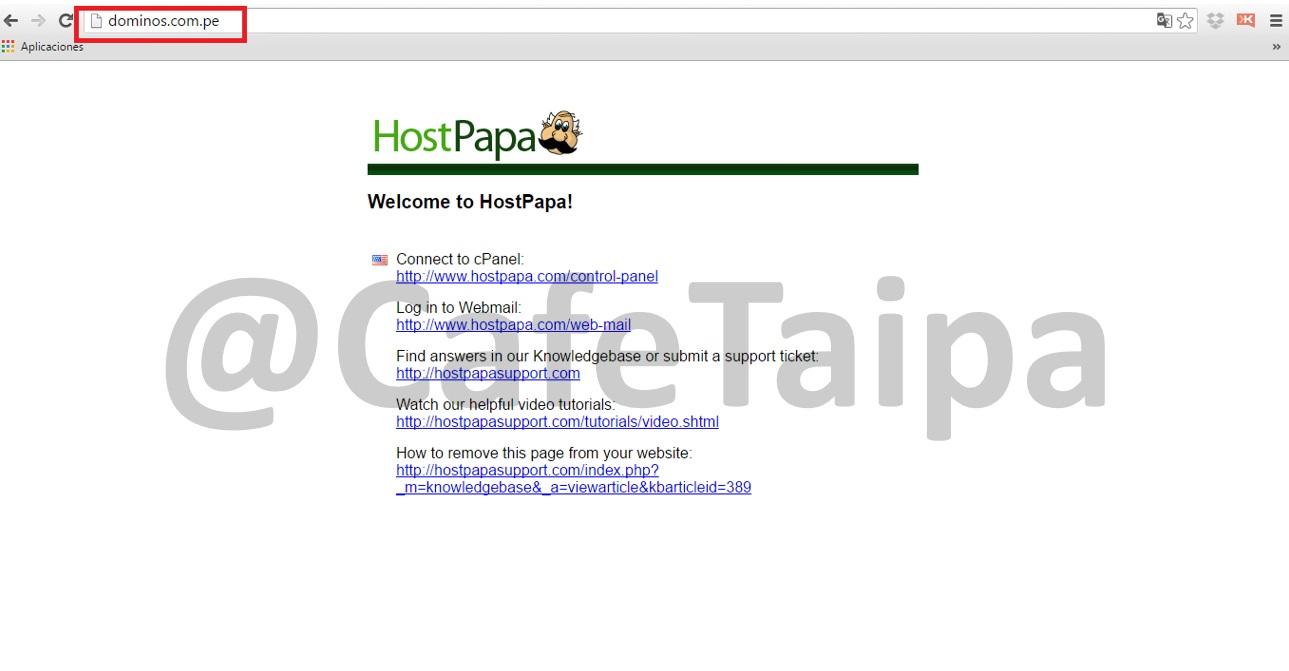 Dominos_Pizza_Peru_y_su_pagina_web_inactiva-Cafe_taipa_Peru_consultores_en_reputacion_y_marketing