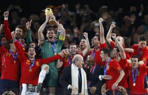 España, Campeón Taipá de Sudáfrica 2010