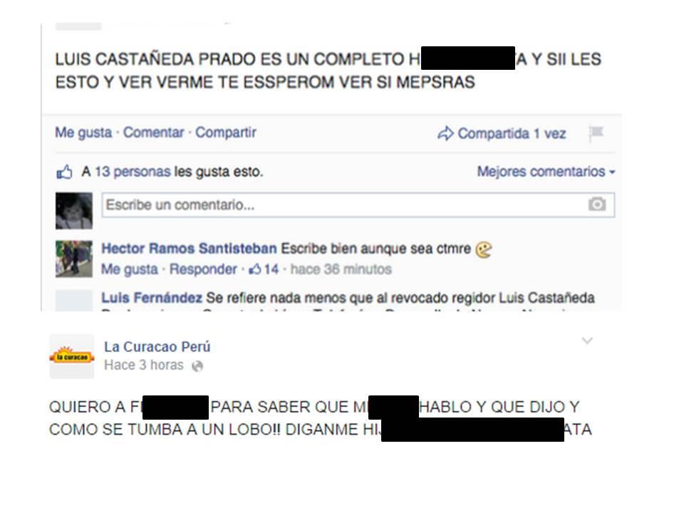 Insultos del hacker de La Curacao a sus compañeros