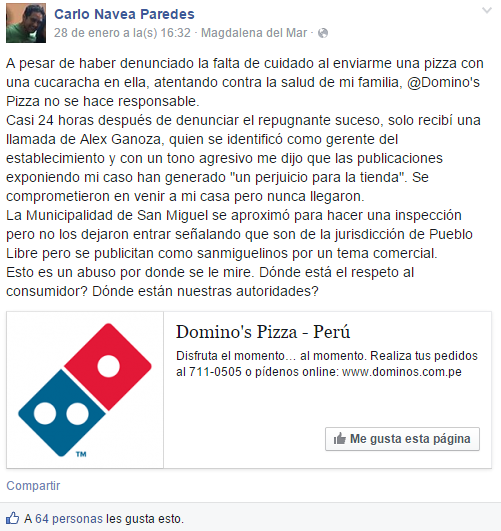 Carlo Navea-Alex Ganoza-Dominos Pizza
