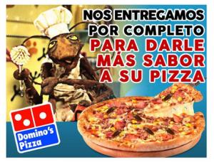 Domino's Pizza Perú, reputación y presencia en Internet. No estar también es un riesgo.