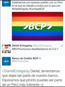 ¿Hizo bien el BCP en apoyar el día del orgullo gay?