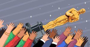 Cinéfilos: ¿Cae la reputación de los Oscar?  Bajo nivel de audiencia genera cambios que no convencen