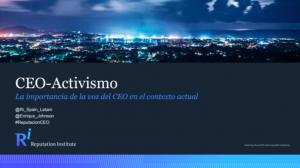 Estudio de reputación CEO España 2019. Claves para ejecutivos peruanos