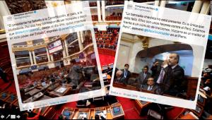 El Twitter de un Congreso disuelto: reflejo de una confrontación