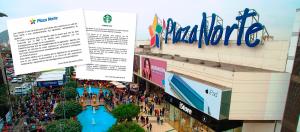 Plaza Norte y Starbucks: Crisis de reputación compartida