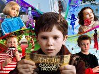"""Imagen de """"Charlie and the Chocolate Factory"""", película de Tim Burton (2005)."""